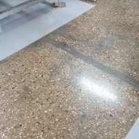 Epoxy with Polished Concrete